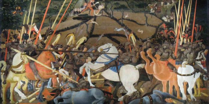 La guerra giusta, tema svolto di italiano