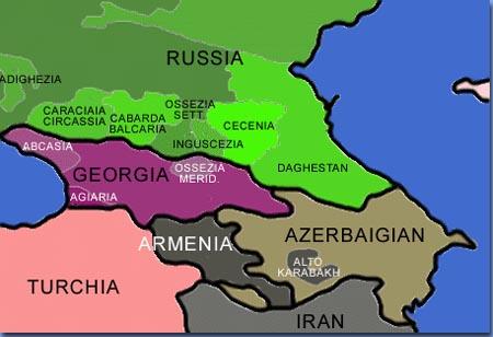 Cecenia: tra guerre e terrorismo, riassunto