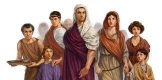 La famiglia romana nell'antica Roma