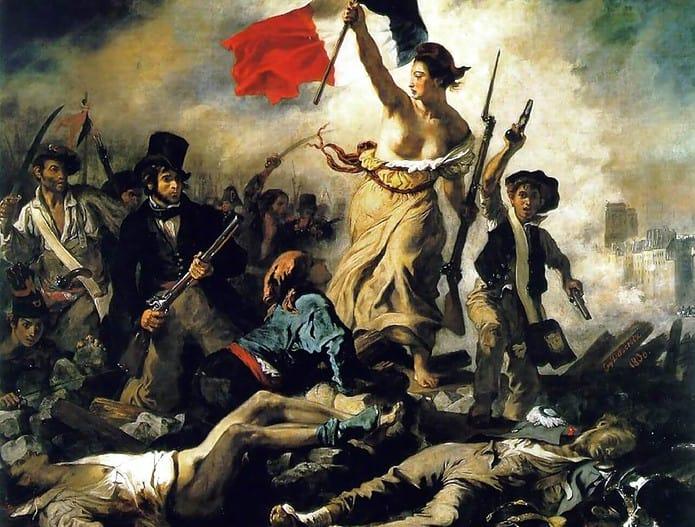 La Libertà che guida il popolo, analisi dell'opera