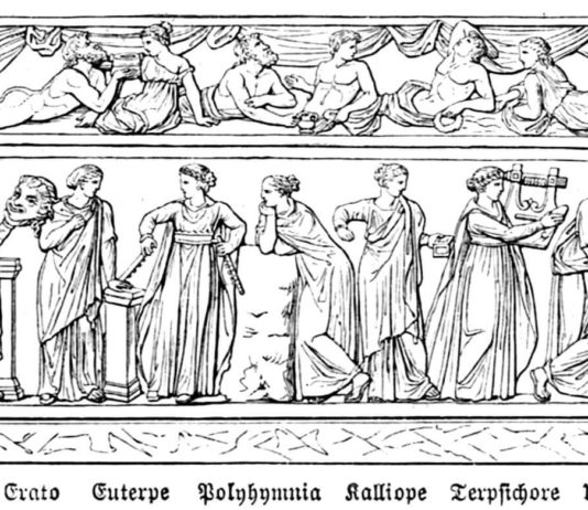 Le nove muse greche - i nomi e le arti