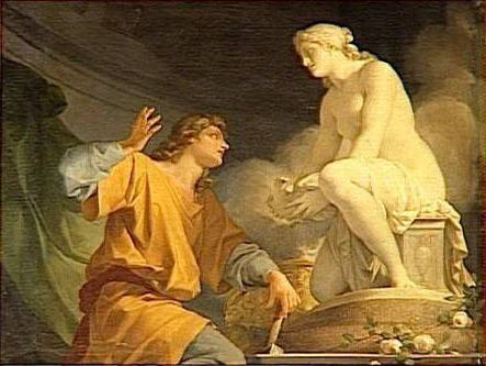Pigmalione, la spiegazione dal mito