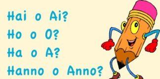 Hai o Ai? Ho o O? Ha o A? Hanno o Anno?