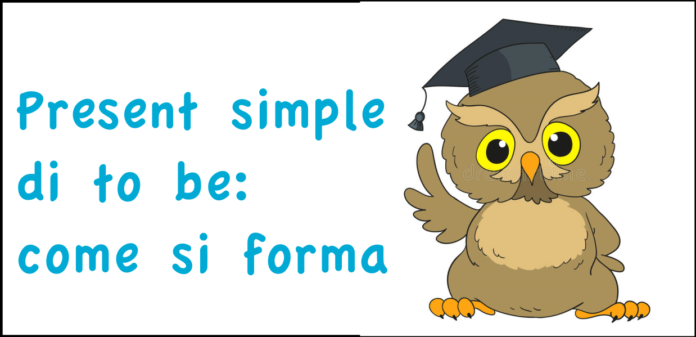 Present simple di to be: come si forma