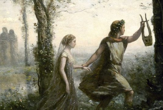 La Fabula di Orfeo, parafrasi