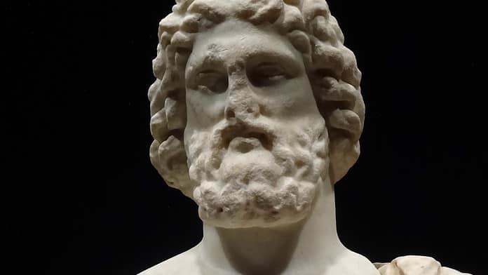 Asclepio o Esculapio, dio della medicina