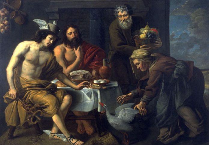 Filemone e Bauci, riassunto e commento