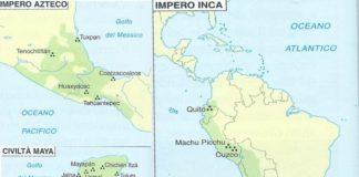 Le civiltà precolombiane: Inca, Aztechi, Maya riassunto