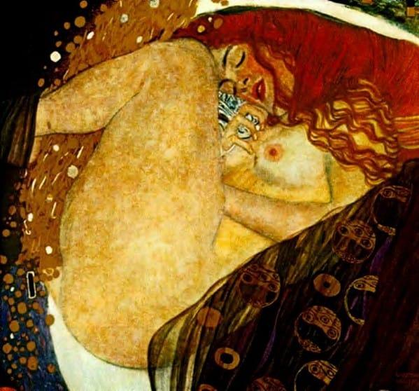 Klimt opere: Danae