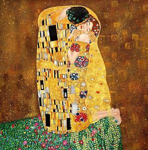 Klimt opere: il bacio