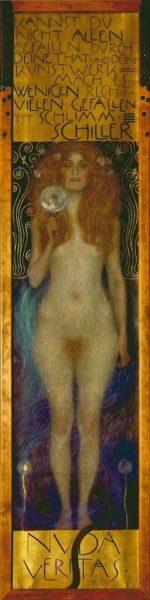 Gustave Klimt, Nuda Veritas, 1899