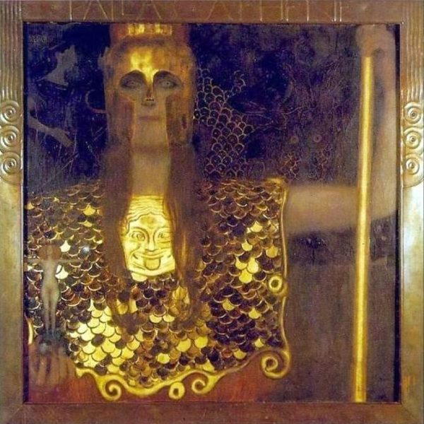 Gustav Klimt, Pallade Atena, 1898