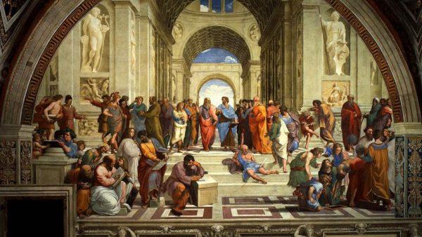 Raffaello, La Scuola di Atene, Stanza della Segnatura
