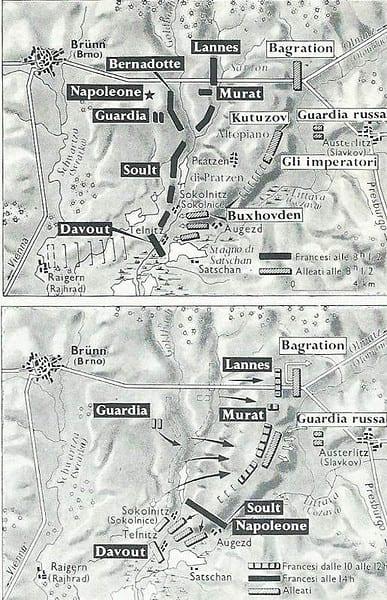 Battaglia di Austerlitz, 2 dicembre 1805