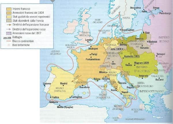 Blocco continentale imposto da Napoleone