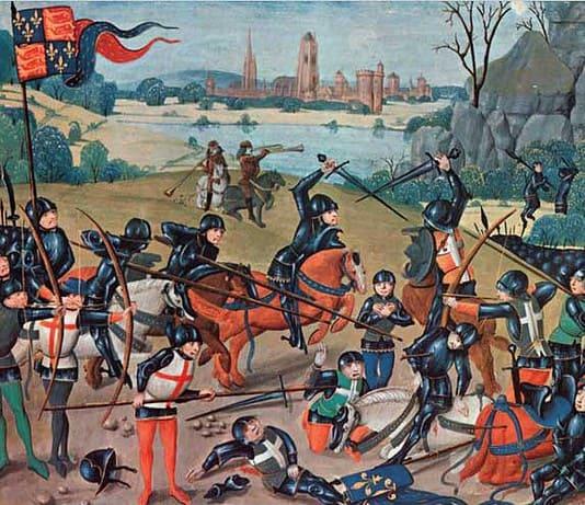 Battaglia di Azincourt, 25 ottobre 1415