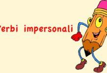 Verbi impersonali in Italiano, quali sono