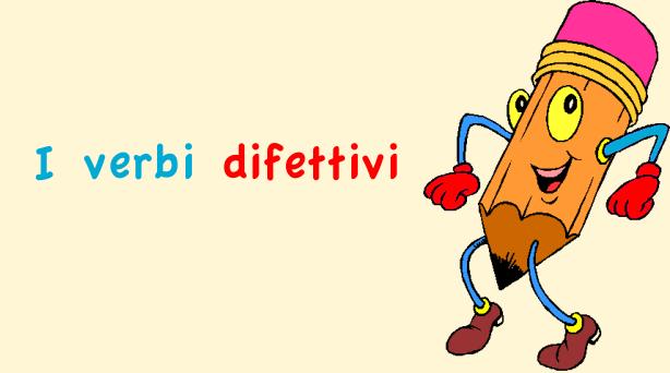 Verbi difettivi