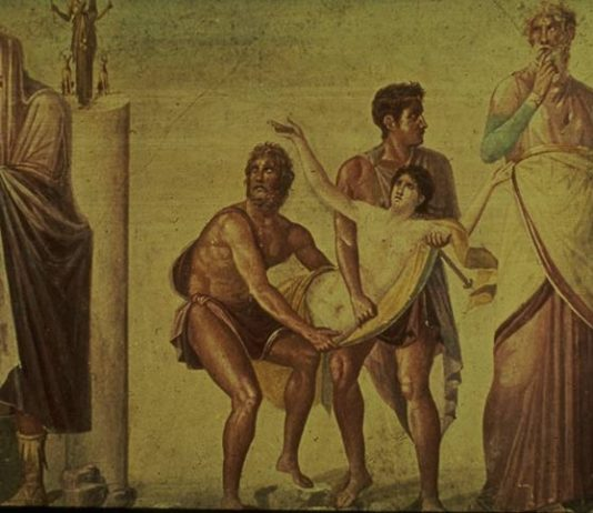Calcante, l'indovino greco
