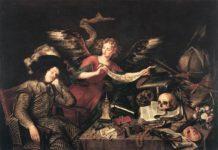 Antonio de Pereda, Il sogno del nobiluomo - descrizione