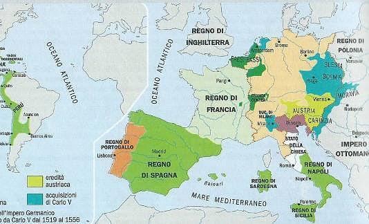 L'Impero di Carlo V d'Asburgo