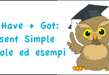 To have got: Present Simple - regole ed esempi