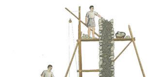 Opus tecnica di muratura in epoca romana