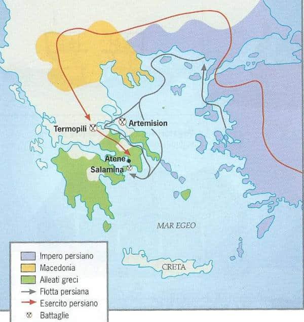 Battaglia delle Termopili (480 a.C.), Seconda guerra persiana