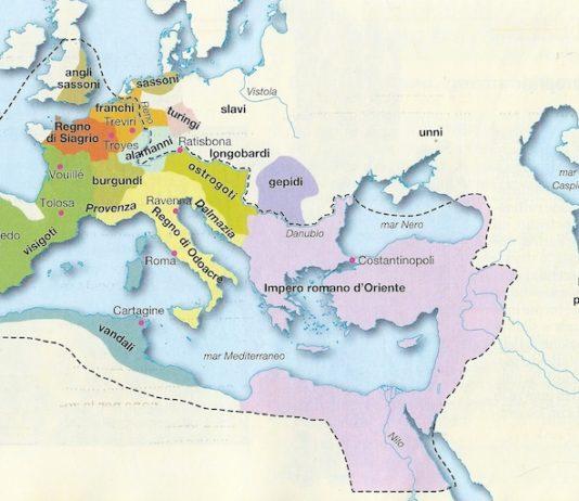La caduta dell'Impero romano d'Occidente