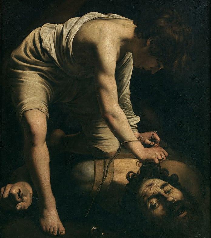 Davide e Golia di Caravaggio: descrizione