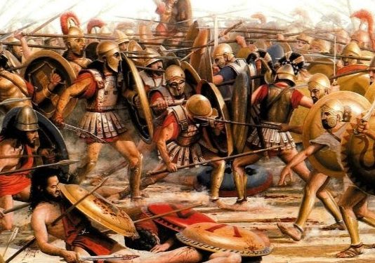 Battaglia di Maratona (490 a.C.) tra Greci e Persiani