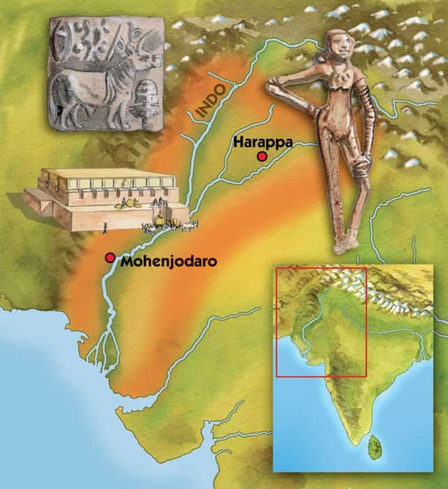 La civiltà dell'Indo: origini e caratteristiche