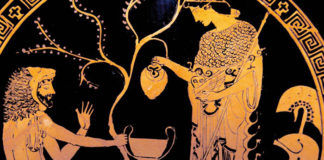 La contesa tra Atena e Poseidone per il dominio dell'Attica
