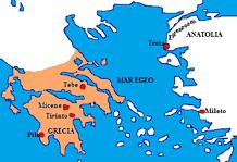 Il mare Egeo: perché si chiama così?