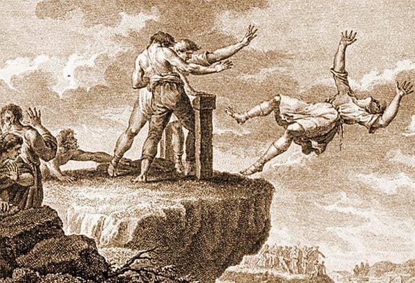 Il tradimento di Tarpea: tradisce i Romani per l'oro dei Sabini