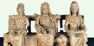La Triade capitolina, Guidonia Montecello, Museo Archeologico Rodolfo Lanciani