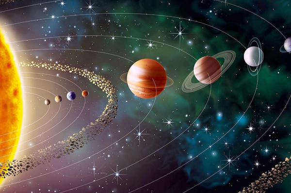sistema solare: cos'è, origine e composizione