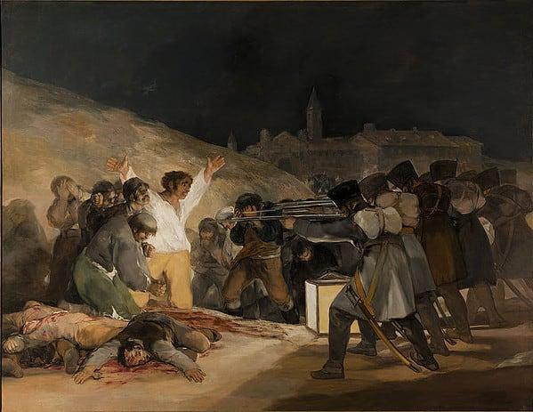 Confronto Massacro in Corea e Il 3 maggio 1808