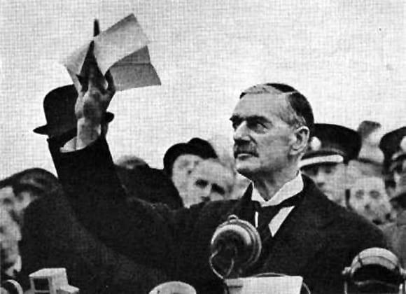 Dalla politica dell'appeasement alla seconda guerra mondiale