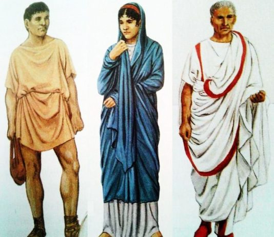 Come vestivano i Romani: moda maschile e femminile