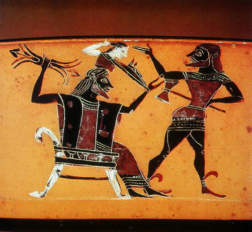 La nascita di Atena secondo il mito