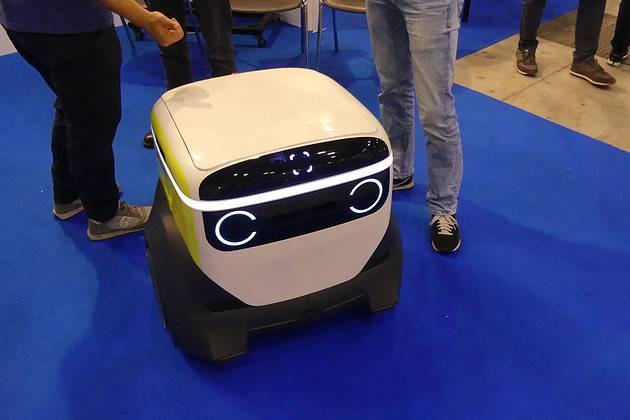 Adero- autonomous indoor delivery: Robot di consegna autonoma