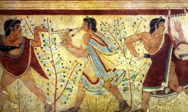 Arte etrusca riassunto: architettura, scultura, pittura