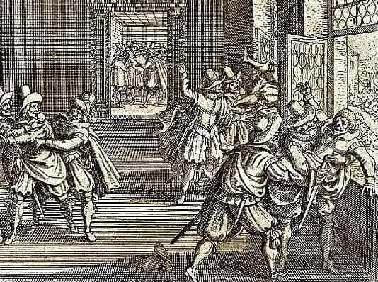 La defenestrazione di Praga del 1618