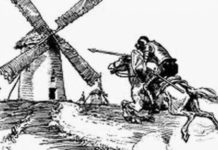 Don Chisciotte contro i mulini a vento riassunto