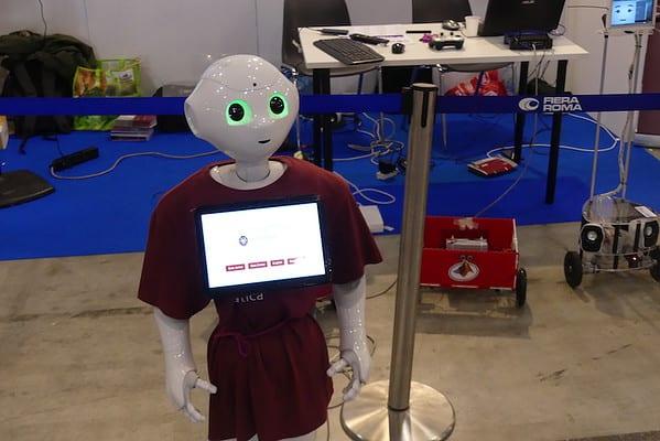 PEPPER, il robot sociale