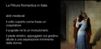 la pittura romantica in italia