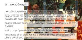 Ta matete di Gauguin: descrizione dell'opera