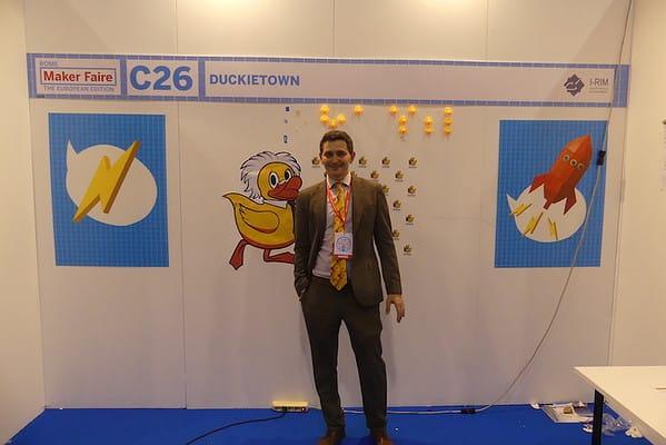Jacopo Tani, co-fondatore del progetto Duckietown