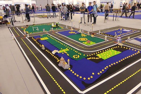 Il modello di città Duckietown